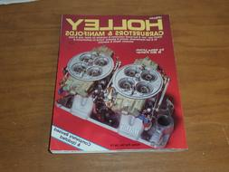 Holley Carburetors & Manifolds: HPBooks-339 by Mike Urich &